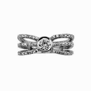 Shiva Cut Diamond Dress Ring